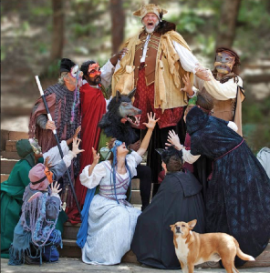 Fallstaff and Merry Wives cast