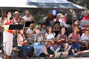 theatricum botanicum 4th of july barn dance banjo group