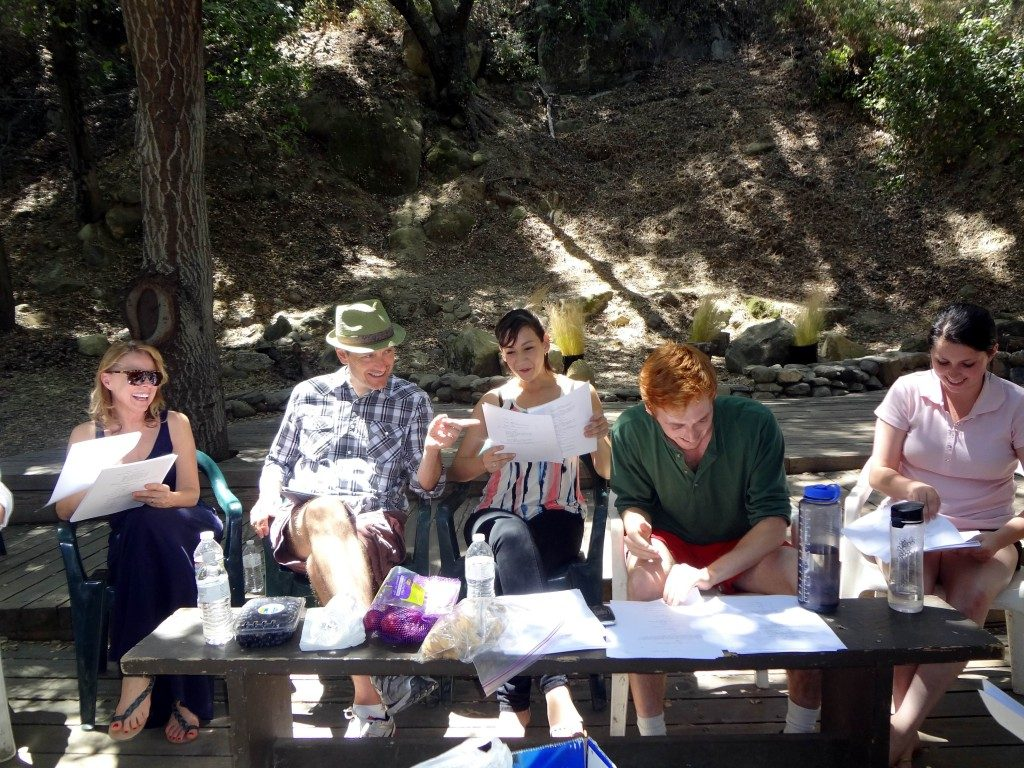 Seedlings new play workshop theatricum botanicum