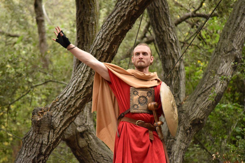 theatricum botanicum coriolanus herald announcing victory