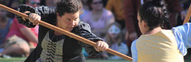 Snippets: Combat – Quarterstaff Flow with Celina Lee Surniak