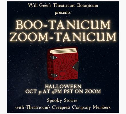 Boo-Tanicum Zoom-Tanicum