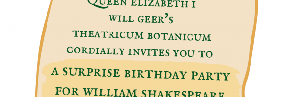 Shakespeare's Surprise Birthday Party