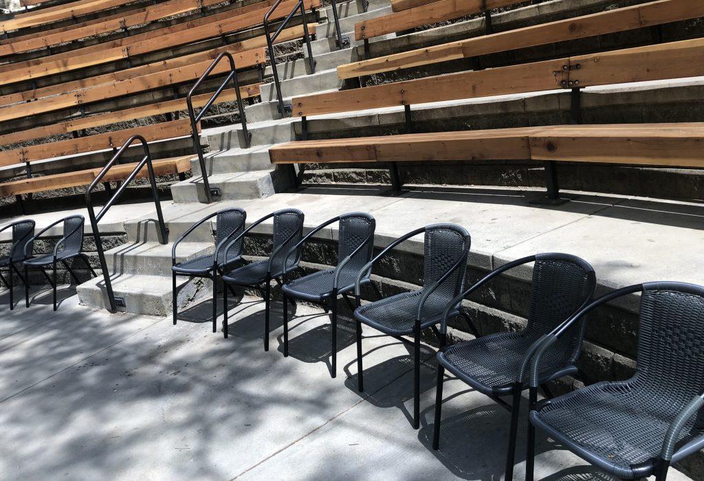 illustrate ADA seating